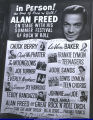 Alan Freed poster featuring Big Al Sears