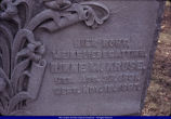 Tombstone of Rinne M. Kruse in Old Macomb Cemetery