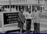 Check Presentation at Brooks Cultural Center WIU April 1987