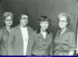 Union National Bank  Employees and Officers Macomb 1981