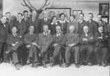 Union National Bank Employees and Officers Macomb 1937