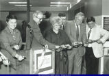 WIU Rock Island Regional Undergraduate Center Ribbon Cutting 1989