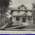 Residence of James E. Voorhees of Bushnell