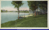 Postcard of Canton Van Winkle Lake circa 1922