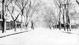 505 East Jackson Street in Macomb in winter, circa 1900