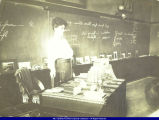 Teacher in Macomb school in early 1900s