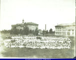Students and Faculty on WISNS campus in early 1900s