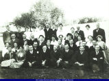 Faculty on WISNS campus in early 1900s