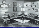 Furniture setup from First Brenner Furniture Store 2-4 West Side Square 1954