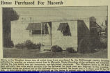Article on Wingfoot Temporary Housing for World War II Veterans 1947
