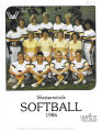 Softball Media Guide 1986