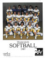 Softball Media Guide 1987