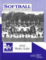 Softball Media Guide 1993