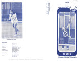 Women's Tennis Brochures