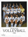 Women's Volleyball 1986