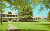 College Dormitories, Chautauqua, New York on Lake Chautauqua