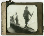 World's Columbian Exposition lantern slides: Transportation Building, Statuary on Top